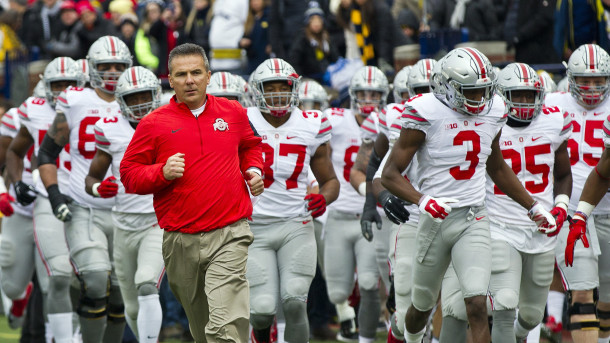 Ohio State Urban Meyer and team