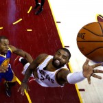 Kyrie Irving in action